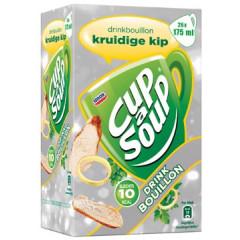 Drinkbouillon Cup A soup 175g kruidige kip (26)