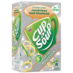 Drinkbouillon Cup A soup 175g rundsvlees met bieslook (26)