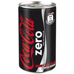 Frisdrank Coca Cola zero 15cl blik (24)