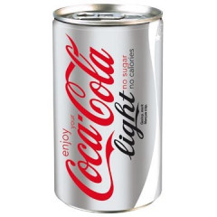Frisdrank Coca Cola light 15cl blik (24)