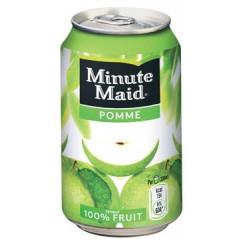 Vruchtensap Minute Maid Appel blik 33cl (24)