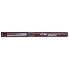 Fineliner Rotring tikky graphic 0,3mm zwart