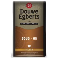 Koffie Douwe Egberts Gold/Dessert gemalen 500g