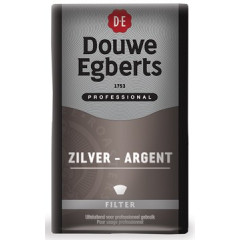 Koffie Douwe Egberts Silver/Mokka gemalen 500g