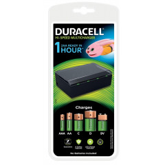 Batterijlader Duracell Hi-Speed Multicharger