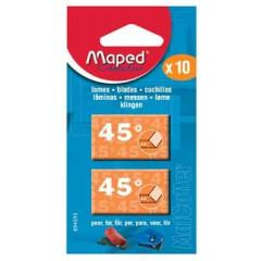 Vervangmesjes matcutter Maped 45° (5)