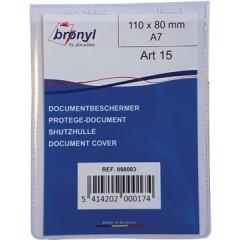 Showtas Bronyl PVC A7 180µ transparant