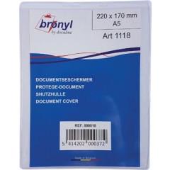 Showtas Bronyl PVC A5 180 micron transparant