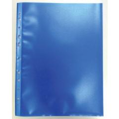 Showtas Bronyl PP A4 11-gaats gekorreld 80µ blauw (50)