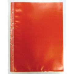 Showtas Bronyl PP A4 11-gaats gekorreld 80µ rood (50)