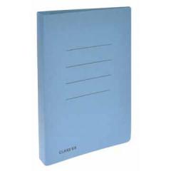 Hechtmap met glijder Classex schrift 18,2x23cm karton blauw