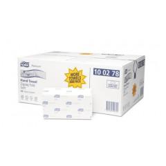 Handdoek Tork premium zigag extra soft 2-laags H3 (15) - FSC Mix Credit