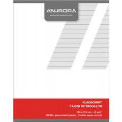 Kladschrift Aurora A5 gelijnd 200blz
