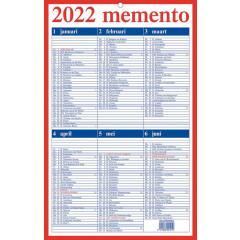 Kalender Aurora Momento 10 210x330mm NL 2022