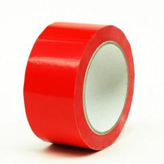 Etitape PVC 50mm x 66m 37µ rood