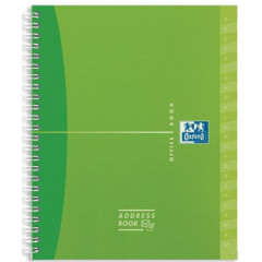 Adresboek Oxford My Colours PP 120x150mm 160blz assorti
