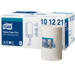 Poetsdoek Tork plus mini centerfeed systeem M1 2-laags (11)