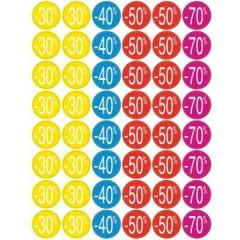 Kortinglabel Apli permanent -30% tot -70% assorti (240)