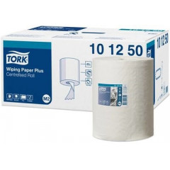 Poetsdoek Tork Plus Centerfeed M2 2-laags (6)