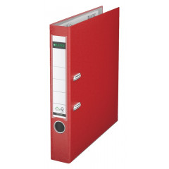 Ordner Leitz 180° PP A4 50mm rood (101525)