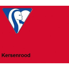 Clairefontaine DIN A4 160gr kersenrood (250) - FSC Mix credit