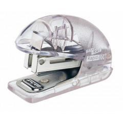 Mini nietmachine Rapid baby-ray transparant