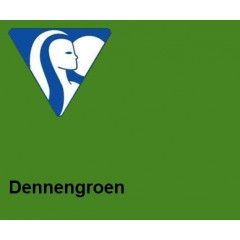 Clairefontaine DIN A4 160gr dennengroen (250)- FSC Mix credit