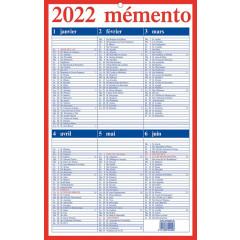 Kalender Aurora Momento 210x330mm 10 FR 2022