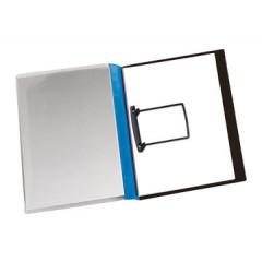 Hechtmap Jalema met clip A4 PVC blauw