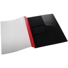 Hechtmap Jalema met clip A4 PVC rood