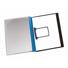 Hechtmap Jalema met clip A4 PVC zwart