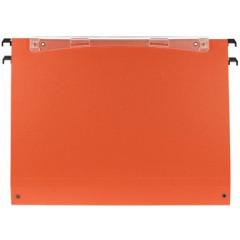 Hangmap Esselte Orgarex Dual Uniscope karton folio 365mm 30mm bodem lade oranje (50)(1025300)