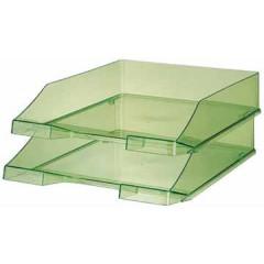 Brievenbak Han C4 transparant groen