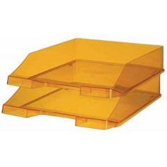 Brievenbak Han C4 transparant oranje