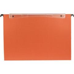 Hangmap Esselte Orgarex Dual Uniscope karton grote folio 380mm V-bodem lade oranje (50)(1030200)