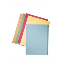 Dossiermap Esselte Manilla folio met overslag 275gr blauw (100)