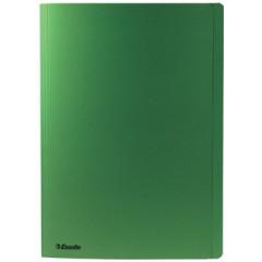 Dossiermap Esselte Manilla folio met overslag 275gr groen (100)