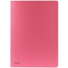Dossiermap Esselte Manilla folio met overslag 275gr roze (100)