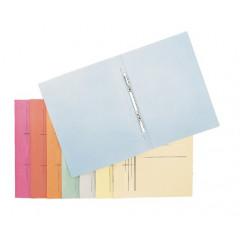 Hechtmap met glijder Esselte Manilla karton A4 blauw (50)(100332b)