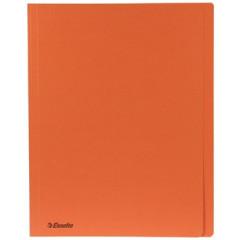 Dossiermap Esselte Manilla A4 met overslag 275gr oranje (100)