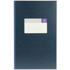 Breedfolio Atlanta 20,5x33cm 96blz gelijnd blauw