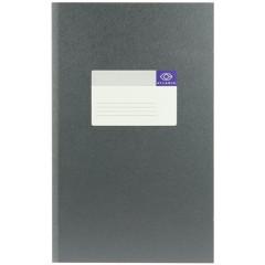 Breedfolio Atlanta 20,5x33cm 200blz gelijnd grijs
