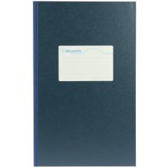 Breedfolio Atlanta 20,5x33cm 192blz gelijnd blauw