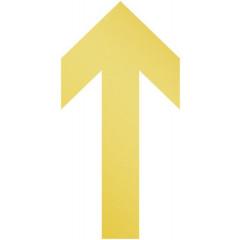Vloermarkering Durable sticker 100x200mm pijl verwijderbaar geel (10)