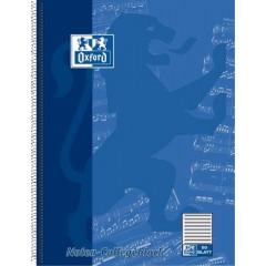 Muziekschrift Oxford karton A4 90g 100blz