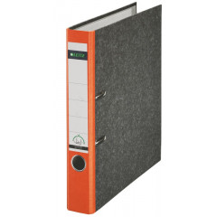 Ordner Leitz 180° karton A4 50mm oranje