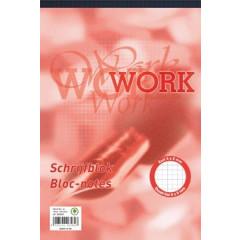 Schrijfblok Work A4 70g geruit 100vel