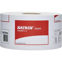 Toiletpapier Katrin Classic Gigant 2-laags 1600vel/rol (12)