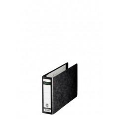 Ordner Leitz 180° karton A5 dwars 55mm zwart