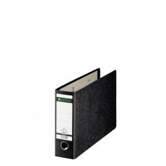 Ordner Leitz 180° karton A4 dwars 77mm zwart